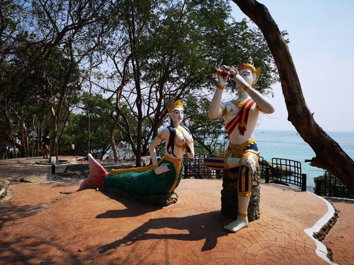 Statue of the Mermaid on Koh Samet