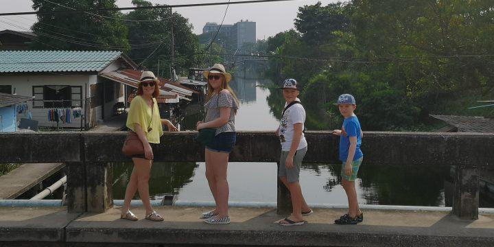 River stroll outside Bangkok