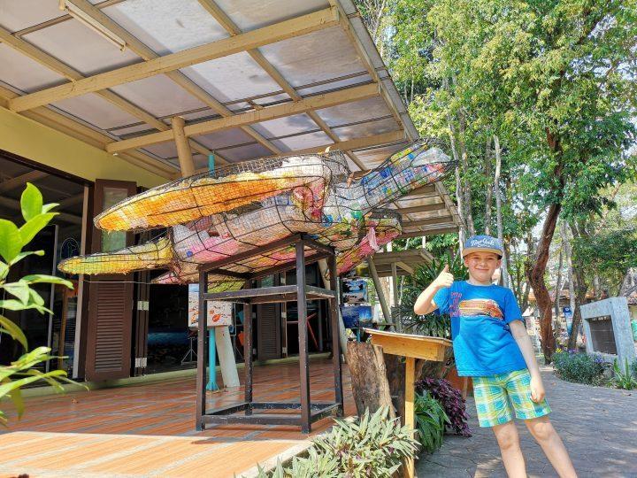Clean island project on Koh Samet, Thailand